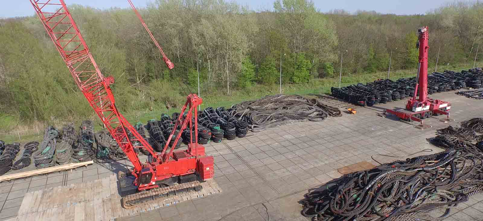 Lifting equipment storage and handling