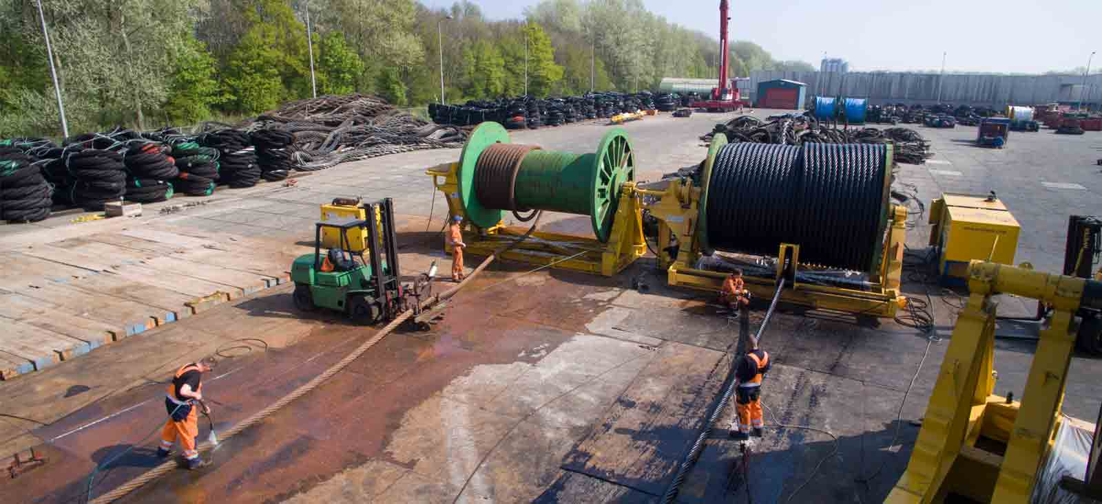 Spooling and Installation